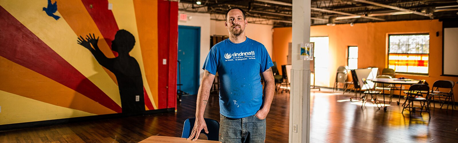 Abe Brandyberry started Cincinnati Urban Promise as a way to help his community.