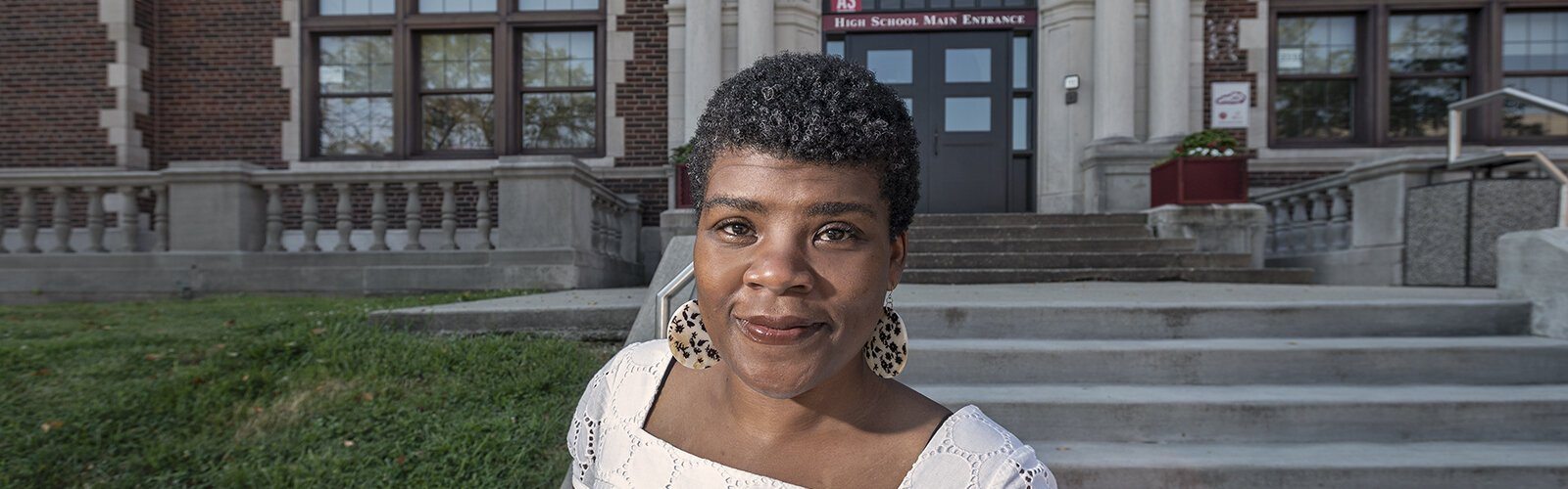 Anissa Lewis grew up in Covington's Eastside neighborhood and returned after getting a degree at Yale.