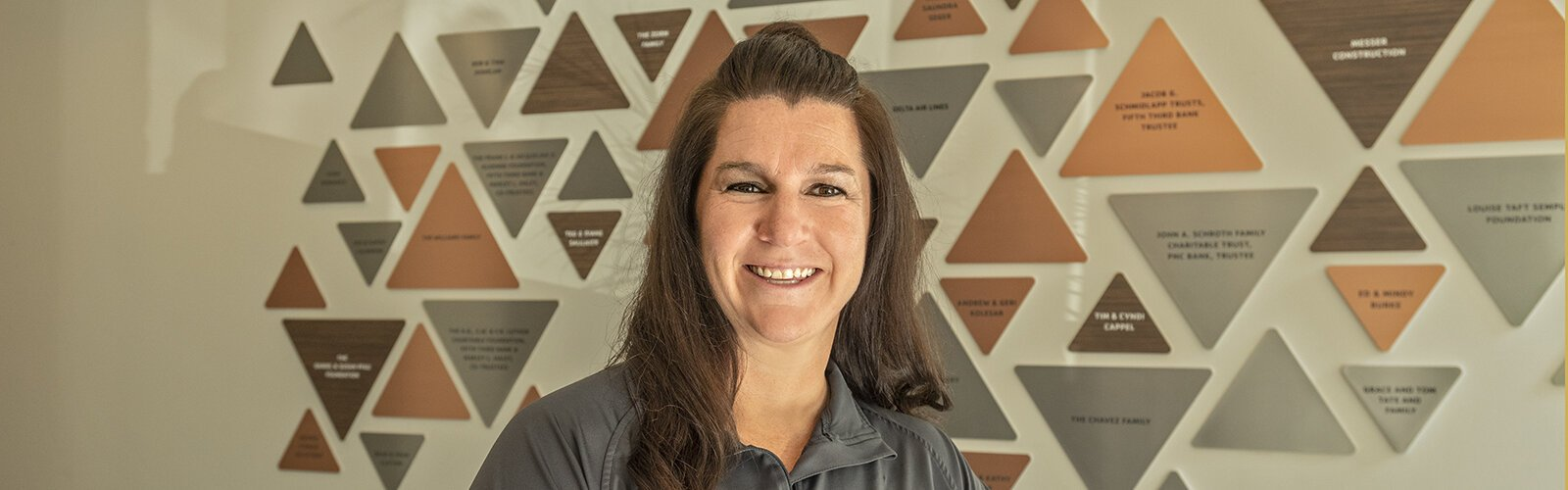 Bridget Behrmann worked with the YMCA in multiple cities before returning to Cincinnati.