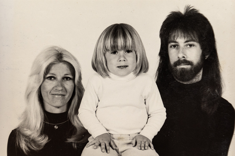 Susan and Gerald Parker with their son, Eddie.