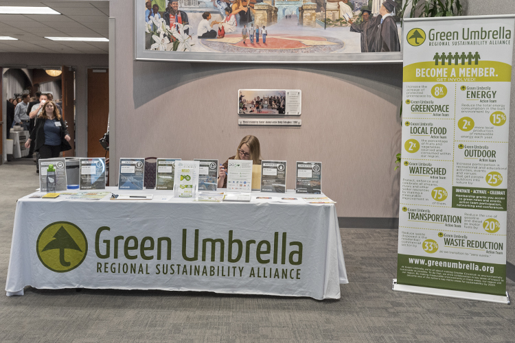 The Midwest Sustainability Summit was presented by Green Umbrella in partnership with the City of Cincinnati and The Brueggeman Center for Dialogue at Xavier University.