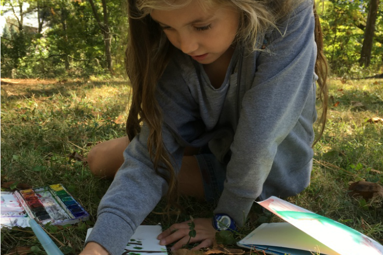 "Liz McEwan, regular ""Soapbox"" contributor and homeschooling mom, shares pictures of her kids organically learning."