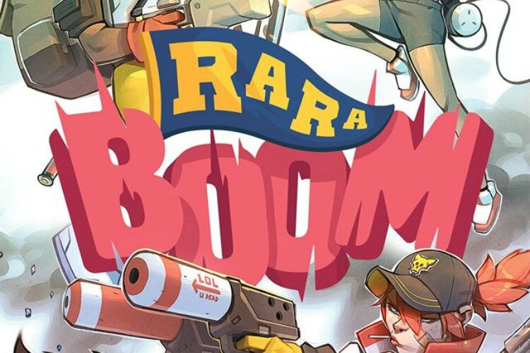 Gylee's first game, Ra Ra Boom, will launch in the next few months.