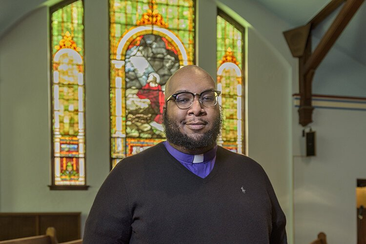 The church hasn't hosted in-person services since before the state shut down last March.
