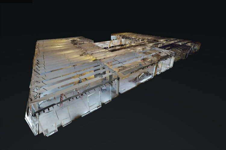 SHP Matterport 3D digital scan of an existing building