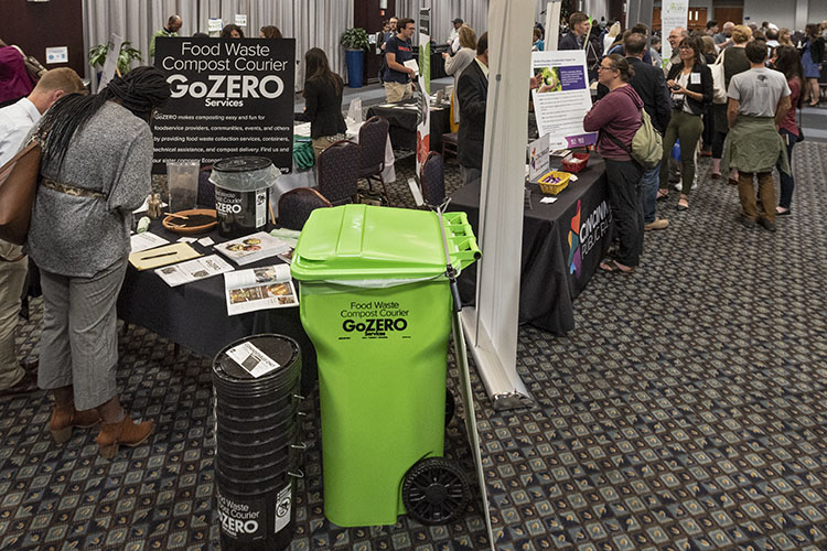 Last year's Midwest Sustainability Summit drew hundreds of attendees interested in a greener future.
