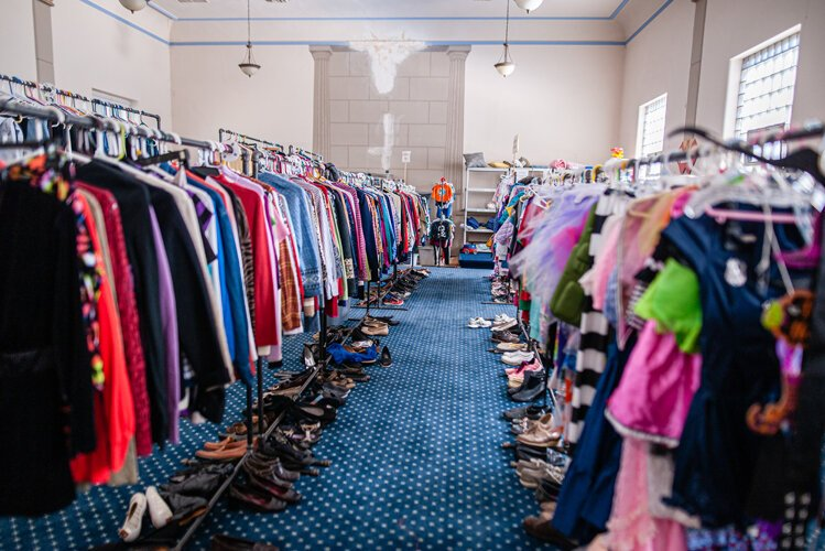 Her organizations provide clothing and other necessities for all ages.