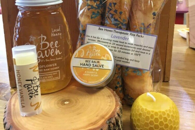 Locally owned Bee Haven Honey was one of many businesses that moved to a Market District storefront in 2019.