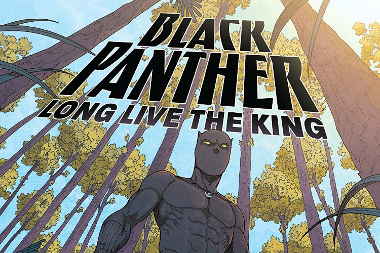 "She's the author of comics based on the ""Black Panther"" movies."