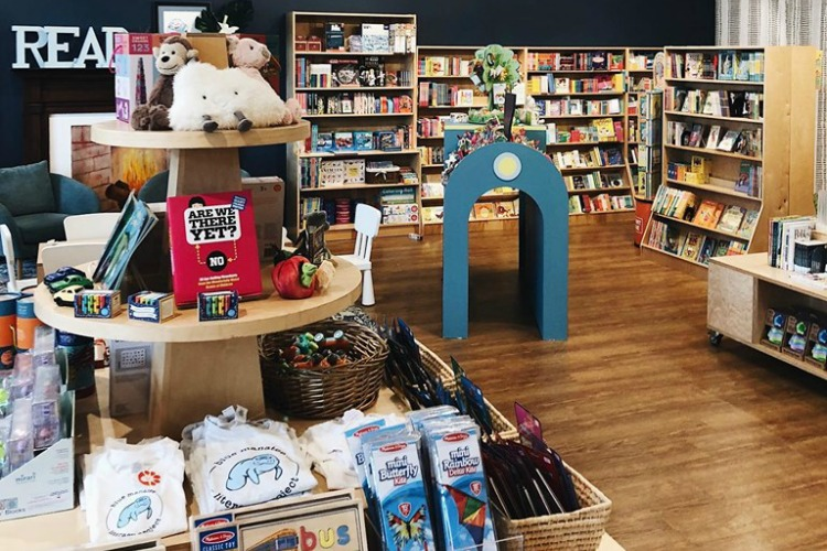 The Blue Manatee Literacy Project and Bookstore in Oakley.