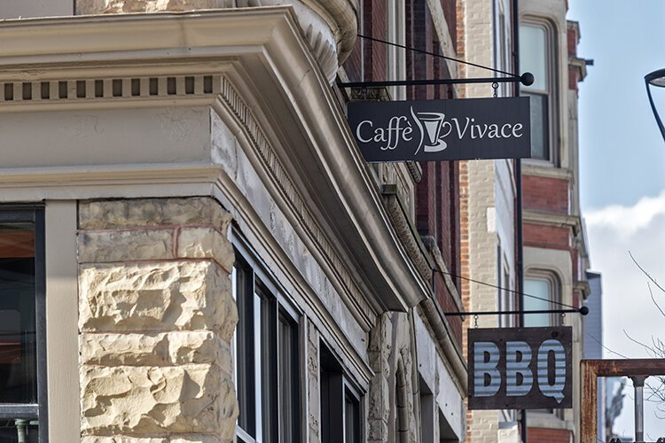 Caffe Vivace is hosting Soapbox's OTG Walnut Hills Community Open Newsrooms.