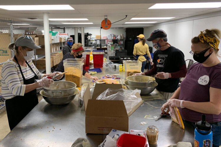 Although the pandemic has limited the amount of volunteers rescuing and distributing food, it has also increased demand for La Soupe's services.
