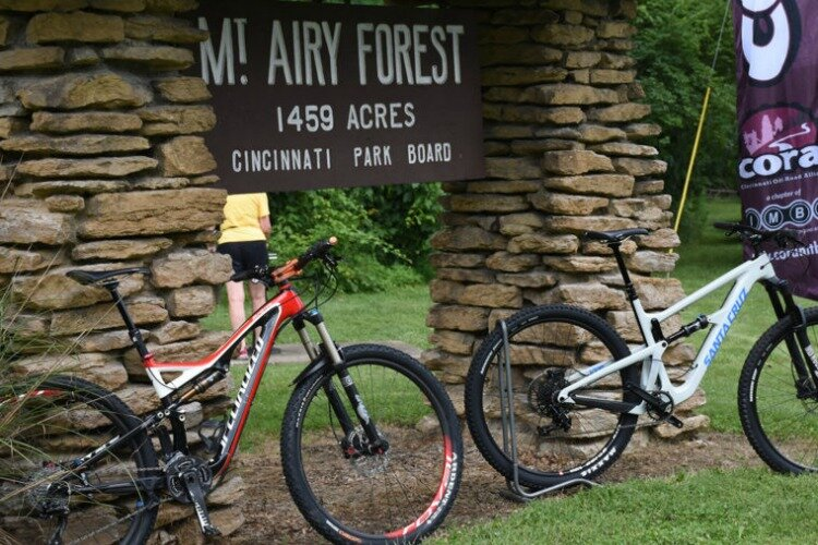 Mount Airy Skills Park is one of three local trails to receive funds.