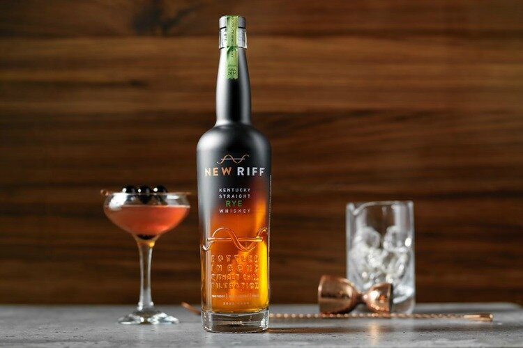 "The New Riff Bottled in Bond Rye was voted 17th best in the country by ""Whiskey Advocate."""