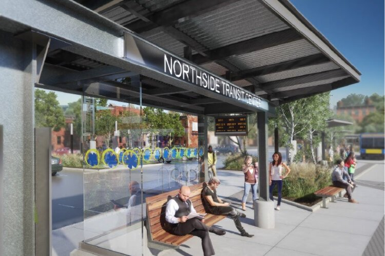 The new Northside connection will provide better access to job and entertainment.