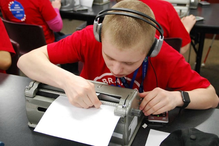 Winners will receive cash prizes and a chance to compete in the Braille Challenge Finals.