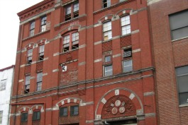 The old Clyffside Brewery on McMicken Avenue.