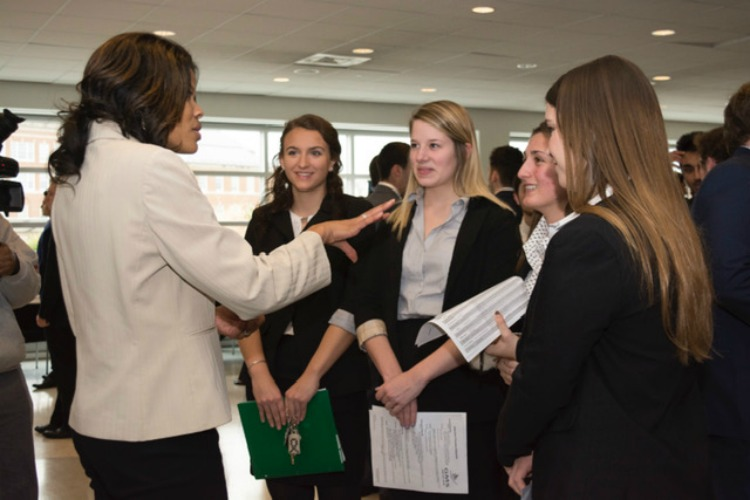 Attendees also have a chance to build connections with local employers.