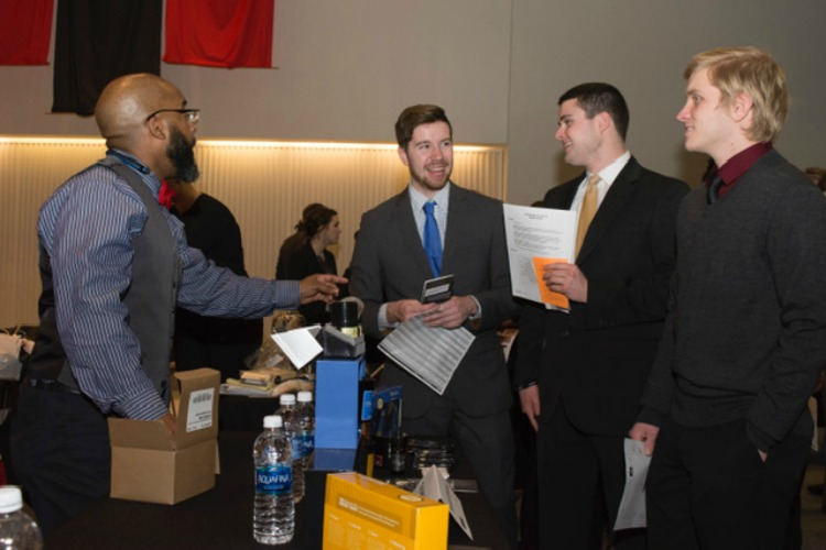 The connections built during the event often lead to future internships.