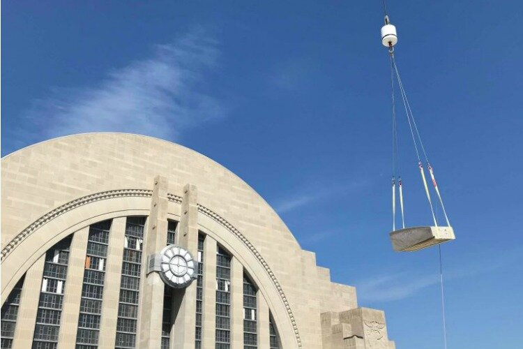Turner Construction renovated Union Terminal while keeping the historic details intact.
