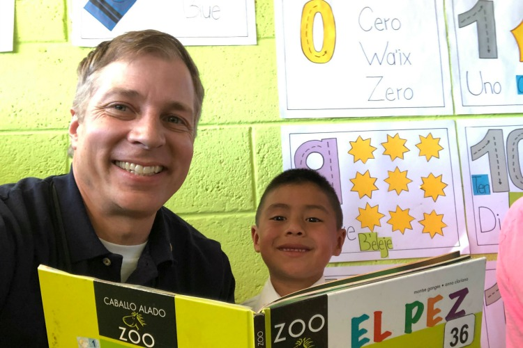 Joe (pictured, left) and Jeff Berninger started Cincinnati's Cooperative for Education (CoEd) to help children in Guatemala improve their lives.