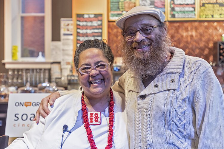 Gardette and her husband, Baba Charles Miller, have lived in Walnut Hills since the 1980s