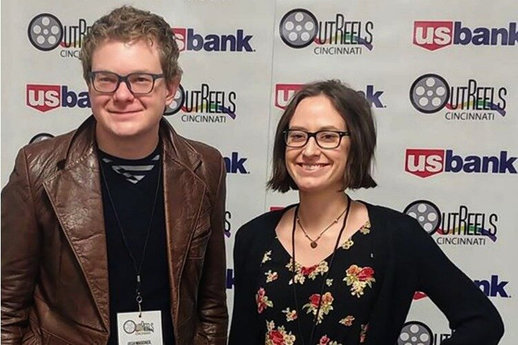 "Filmmakers Josh Wagoner (""Culture of Silence"") and Robyn Di Giacinto (""Pride Prom"")"