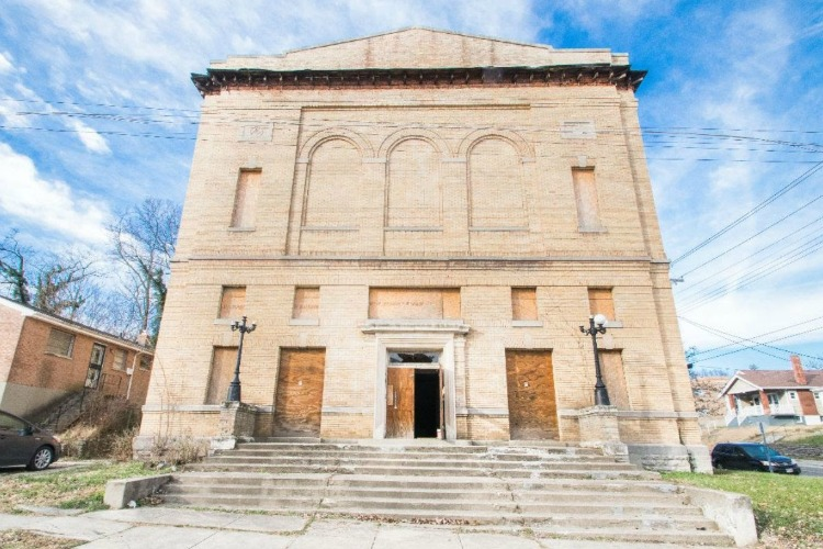The former Price Hill Masonic Lodge, built in 1912, has been vacant since the mid-1800s but will soon serve as a space for offices, orchestras, and events.