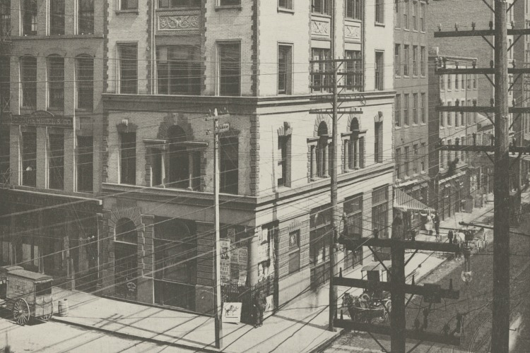 Times-Star Building, 1893, located where Nada currently stands