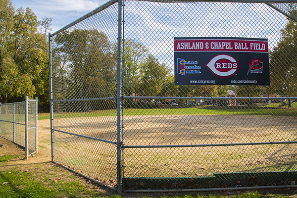 Walnut Hills' forthcoming Little League teams will use existing fields at Ashland & Chapel.