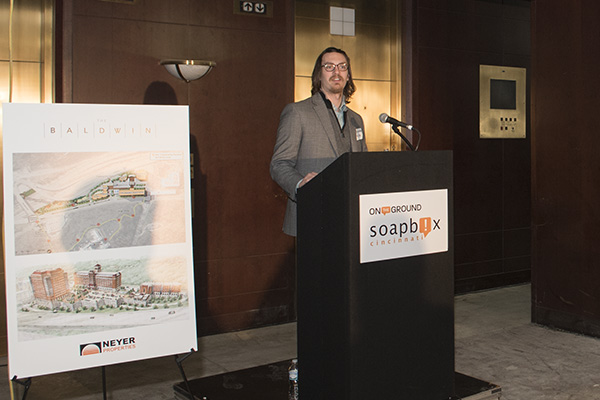 Chris Nicak from the Economis Center spoke about the benchmark data study for OTG Walnut Hills.