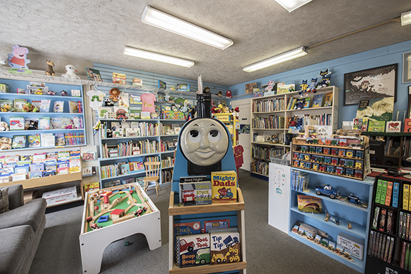 Blue Marble Books in Fort Thomas caters to families and younger readers.