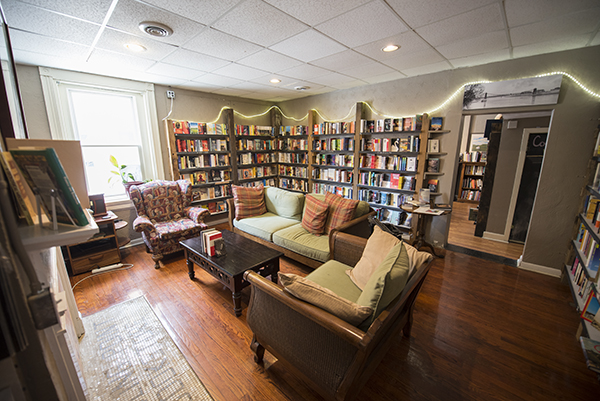 Roebling Point in Covington offers a distinctive, hand-selected collection of books.