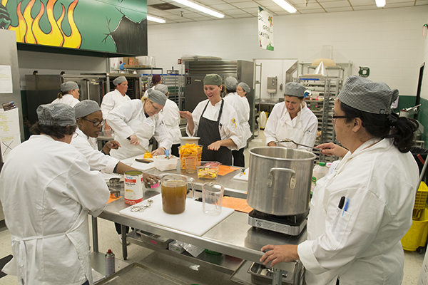 Culinary boot camp in July at Dayton (Ky.) High School