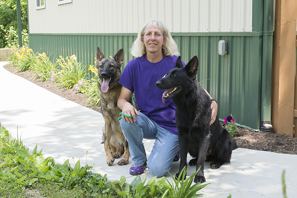 Maryls Staley trains hearing and service dogs at Circle Tail