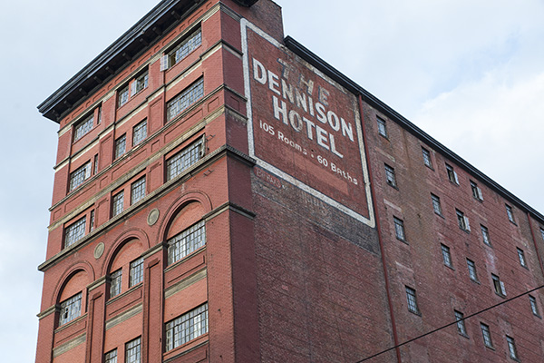 The Historic Conservation Board will take public comments April 18 on demolishing the Dennison Hotel