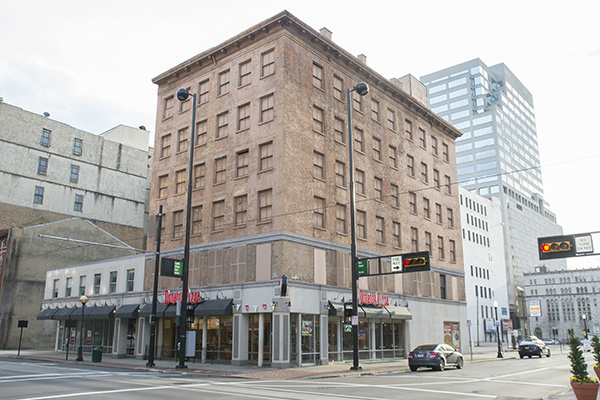 This 1850s era building will be torn down for a new downtown condo project