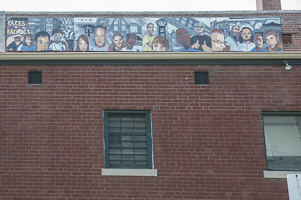 The mosaic at Transformations CDC reflects the multi-cultural community Price Hill has become