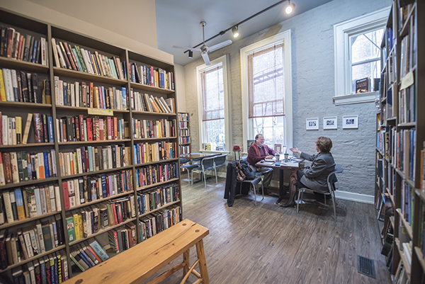 Iris Book Café specializes in rare, used and out-of-print items.