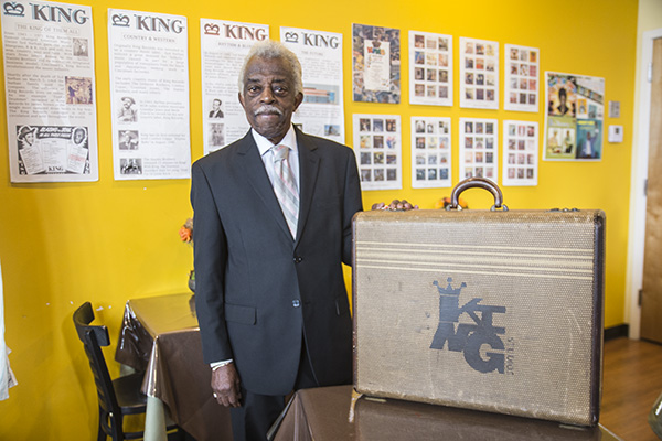 Philip Paul was a studio drummer at King Records from 1952-1965.