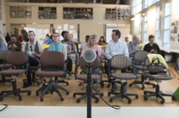 New Speaker Series convened at University of Cincinnati's Niehoff Urban Studio in Corryville.