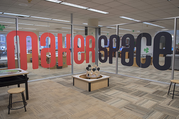 The Cincinnati Public Library now operates four MakerSpaces within the district.