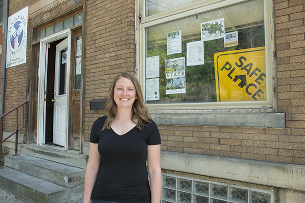 Megan Knapke quit her job to join the Notre Dame Mission Volunteers, who help empower economically disadvantaged communities like Price Hill