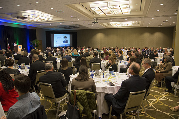 """The State of Metro 2015"" was held Dec. 11 at the Westin Hotel downtown"