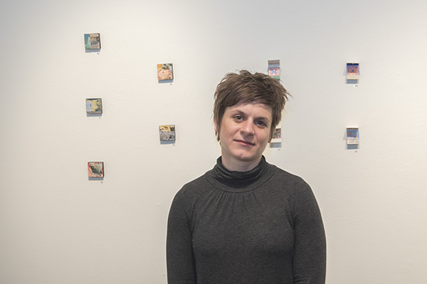 Graduate Kim Flora believes AAC fosters a community for both old and new artists in Cincinnati.