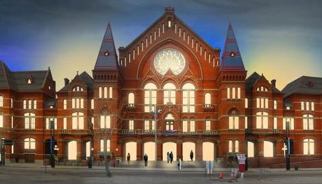 Rendering of a renovated Music Hall