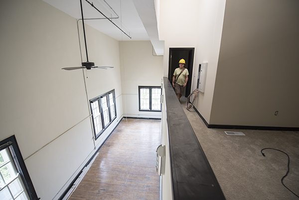 Alumni Lofts in the old SCPA building will open to the public in September