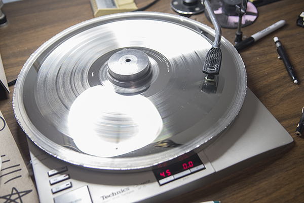 "A ""mother"" on the turntable."