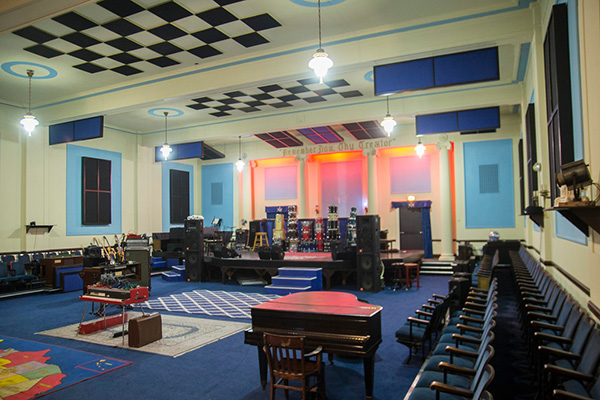 Former dayton masonic lodge to become gathering space for musicians masonic sounds recording studio at the lodge sciox Images