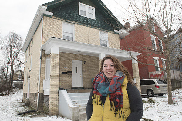 Walnut Hills resident Katy Dietz is part of an intentional community called Love Your Neighbor.